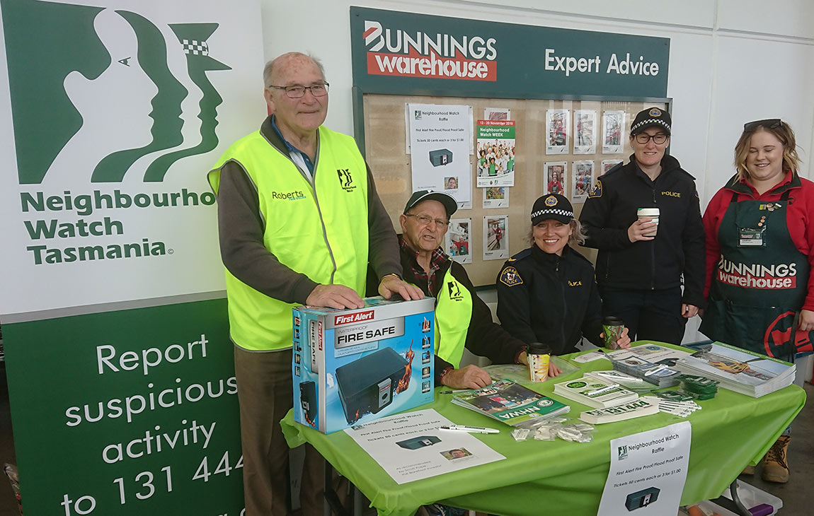 nhw bunnings and police